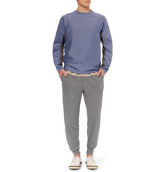 Kolor Tapered Panelled Wool-Blend Sweatpants