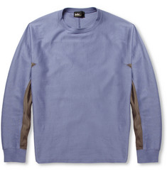 Kolor Panelled Cotton-Blend Sweatshirt