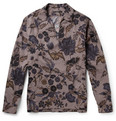 Gucci Printed Stretch-Cotton Shirt