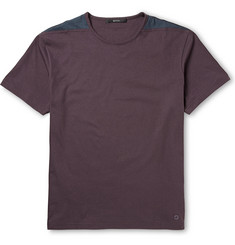 Gucci Two-Tone Cotton-Jersey T-Shirt