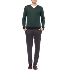 Valentino Wool and Cashmere-Blend Sweater