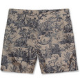 Valentino - Printed Mid-Length Swim Shorts