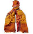 Loro Piana - Check Cashmere and Silk-Blend Scarf