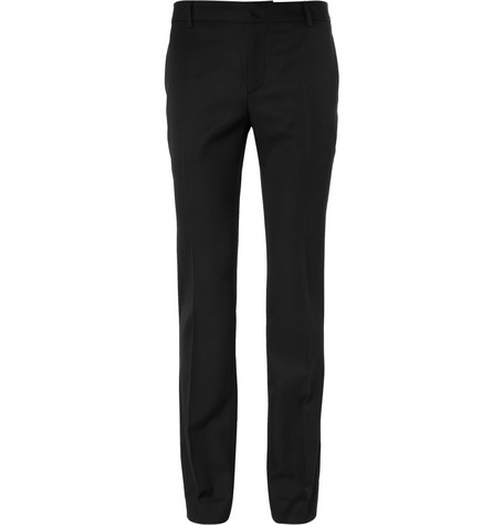 Balmain Slim-Fit Wool Trousers