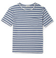 Maison Kitsuné Striped Cotton-Jersey T-Shirt