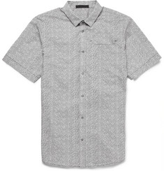 Alexander Wang Printed Short-Sleeved Cotton Shirt