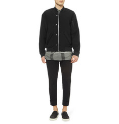 Alexander Wang Oversized Textured Bomber Jacket