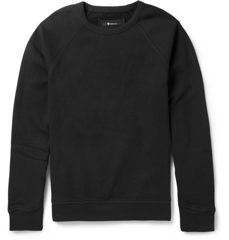 Alexander Wang Cotton-Blend Jersey Sweatshirt