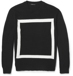 Alexander Wang Knitted Cotton-Blend Sweater