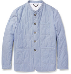 Burberry Prorsum Quilted Cotton Jacket