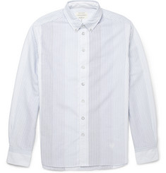 Rag & bone Striped Button-Down Cotton Oxford Shirt
