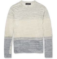 Rag & bone Hayden Linen and Cotton-Blend Sweater