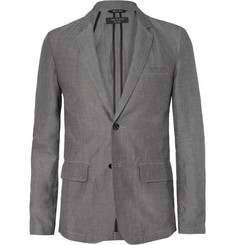 Rag & bone Philips Slim-Fit Unstructured Cotton and Linen-Blend Blazer