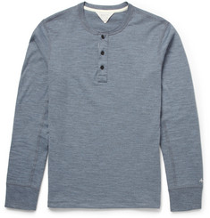 Rag & bone Cotton-Blend Jersey Henley T-Shirt