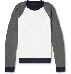 Rag & bone Milo Colour-Block Raglan Sweater