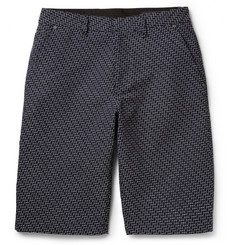 Rag & bone Sawyer Patterned Cotton Shorts