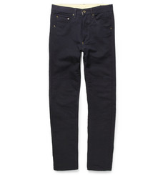 Rag & bone James Tapered Textured Cotton Trousers