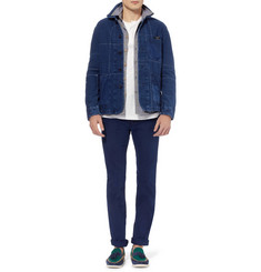 Blue Blue Japan Patchwork Cotton Lightweight Jacket