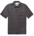 Paul Smith Slim-Fit Printed Short-Sleeved Lightweight Cotton Shirt
