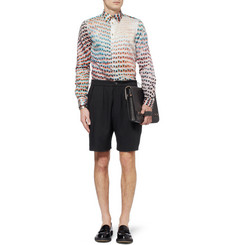 Paul Smith Lightweight Woven-Wool Shorts