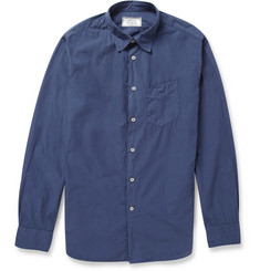 Officine Generale Slim-Fit Lightweight Cotton Shirt
