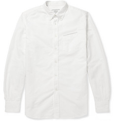 Officine Generale Button-Down Collar Cotton Oxford Shirt