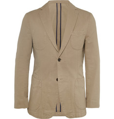 Officine Generale Unstructured Cotton-Twill Blazer