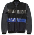 Lanvin Panelled Lightweight Bomber Jacket