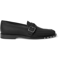 Lanvin Rubberised Leather Loafers