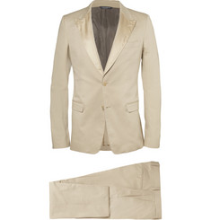 Dolce & Gabbana Slim-Fit Cotton-Blend Tuxedo