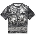 Dolce & Gabbana - Oversized Printed Cotton and Linen-Blend T-Shirt
