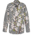 Dolce & Gabbana - Gold-Fit Blossom-Print Cotton Shirt