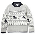 Thom Browne Fair Isle Cotton Sweater