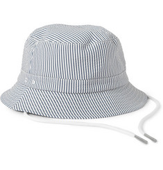Thom Browne Seersucker Fisherman's Hat