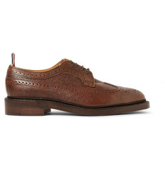 Thom Browne Pebble-Grain Leather Brogues