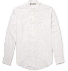 Etro Embroidered Fine Cotton Shirt