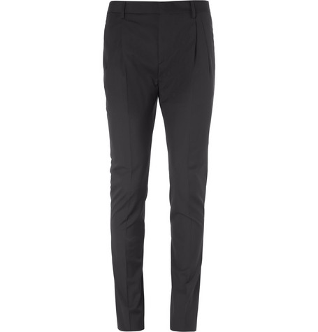 Saint Laurent Slim-Fit Wool Trousers