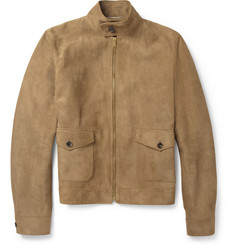 Saint Laurent Suede Bomber Jacket
