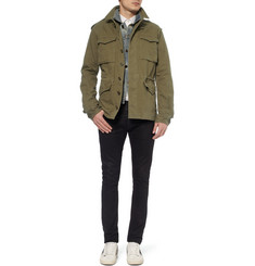 Saint Laurent Regular-Fit Cotton and Linen-Blend Field Jacket