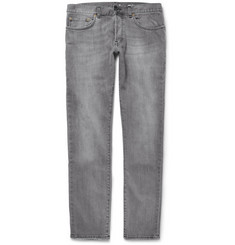 Saint Laurent Slim-Fit Washed-Denim 17.5cm Jeans