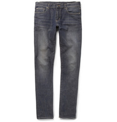 Saint Laurent Slim-Fit Washed-Denim 15.5cm Hem Jeans