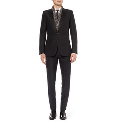 Saint Laurent Slim-Fit Wool and Mohair-Blend Tuxedo