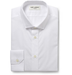 Saint Laurent White Cotton Shirt