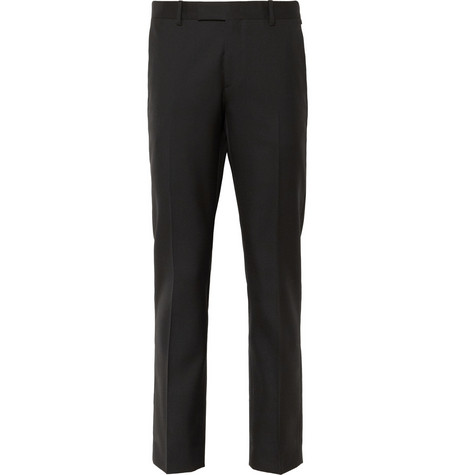 Saint Laurent Slim-Fit Wool-Twill Trousers