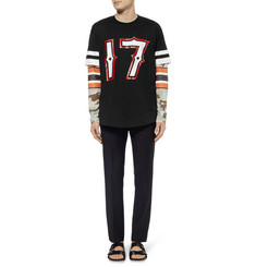 Givenchy Columbian-Fit Short-Sleeved Printed T-Shirt