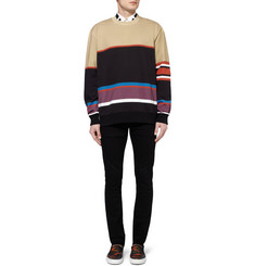 Givenchy Multi-Print Panelled Sweatshirt