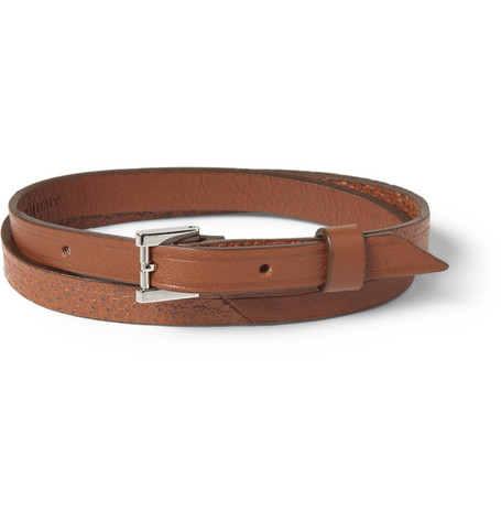 WANT Les Essentiels de la Vie Vantaa Leather Wrap Bracelet