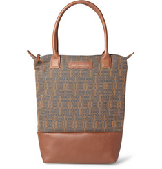 WANT Les Essentiels de la Vie Orly Leather and Canvas Tote Bag