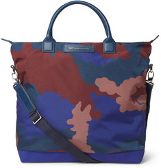 WANT Les Essentiels de la Vie O'Hare Leather-Trimmed Printed Canvas Tote Bag