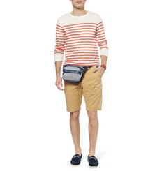 WANT Les Essentiels de la Vie Tacoma Leather-Trimmed Canvas Waist Bag